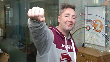 Image for Nigel Kennedy chats to Steve Wright