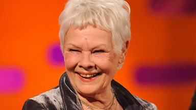 Image for Graham chats with Dame Judi Dench about the new phrase
