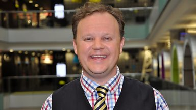 Image for Children's TV presenter Justin Fletcher on catchy tunes and his colourful characters