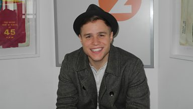 Image for Pop superstar Olly Murs chats to Steve Wright