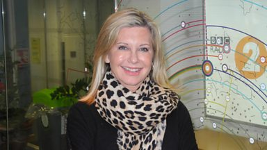 Image for Olivia Newton John joins Steve Wright