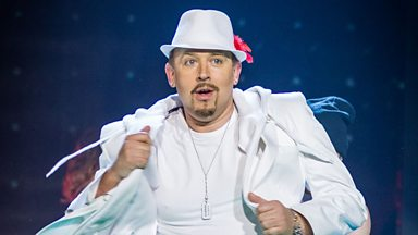 Image for Tim Vine as Justin Timberlake