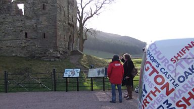 Image for Beginner's Guide to Shropshire - Hopton Castle