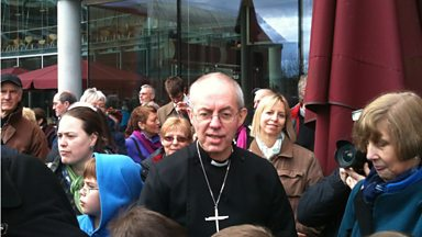 Image for Nick Conrad meets the Archbishop of Canterbury
