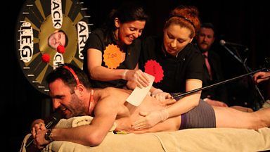 Image for Shaun Keaveny gets waxed for Comic Relief