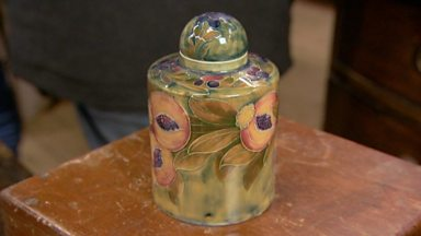 Image for A rare tea caddy