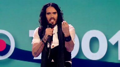 Image for Russell Brand does his bit for Comic Relief