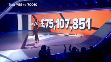 Image for Russell Brand reveals the final total