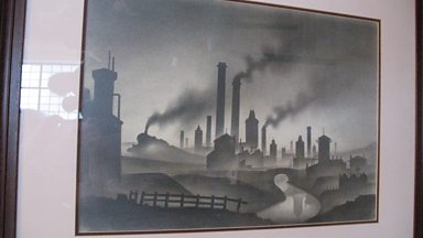 Image for Trevor Grimshaw charcoal drawing