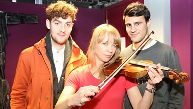 Image for Clean Bandit chat to Sara Cox