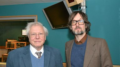 Image for Sir David Attenborough chats to Jarvis Cocker