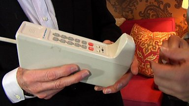 Image for Mobile phone inventor discusses its future