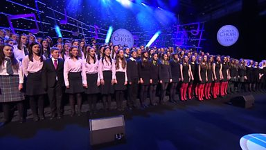 Image for Angel Voices - The choirs and congregation at BT Convention Centre (Senior School Choir 2013)