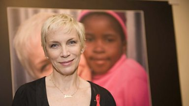 Image for Annie Lennox on her new exhibition