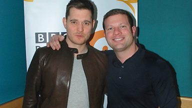 Image for Micheal Buble catches up with Dermot O'Leary