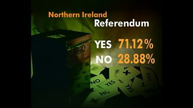 Image for Northern Ireland votes yes to Good Friday Agreement