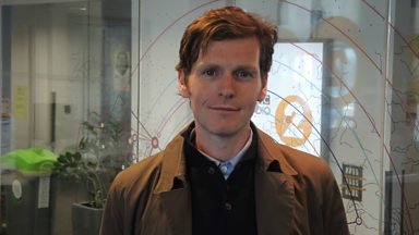 Image for Endeavour actor Shaun Evans talks to Steve Wright