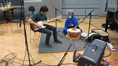Image for Aziza Brahim in session