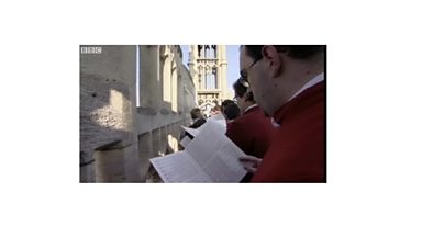 Image for Gloucester Cathedral Choir sing a special Ascension hymn