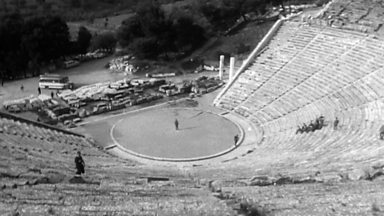 Image for Theatre acoustics at Epidaurus