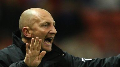 Image for Ian Holloway angry despite reaching Wembley