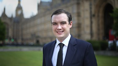 Image for Tory MP James Wharton on Cameron ally