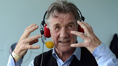 Image for Michael Palin commentates on Test Match Special