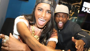 Image for Angel Haze talks to Twin B