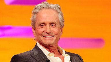 Image for The screen legend Michael Douglas