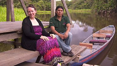Image for From Essex to Ecuador - the British woman who married a rainforest tribal leader