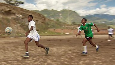 Image for Ecuador's remote valley producing world-class footballers