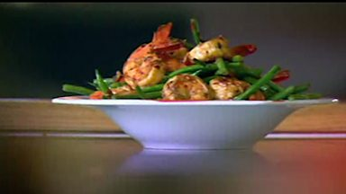 Image for Zesty chilli prawns