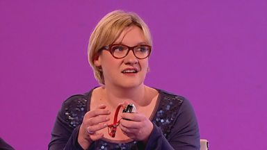 Image for Did Sarah Millican put a camera on her cat to see if it was turning the taps on?