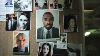 Image for DCI Luther Crime Board
