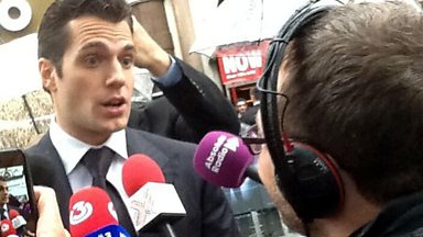 Image for Henry Cavill talks to Kevin Pamplin