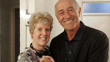 Image for When Dave and Monica met Len Goodman