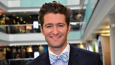 Image for Glee's Mr Schuester talks Broadway and Breakfast