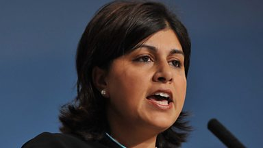 Image for Baroness Warsi speaks to Clare Balding