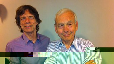 Image for Today at Glastonbury 2013: Humphrys meets Jagger