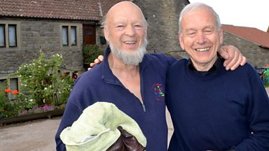Image for Today at Glastonbury 2013: John Humphrys meets Michael Eavis