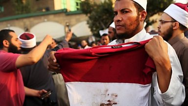 Image for Egypt unrest: Interim leader outlines election timetable