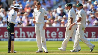 Image for The Ashes: Jonny Bairstow is reprieved by a no ball