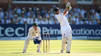 Image for The Ashes: Ian Bell out for 109 at Lord's