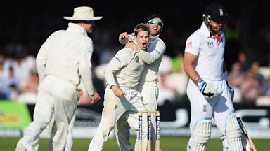 Image for The Ashes: England's Matt Prior out for six