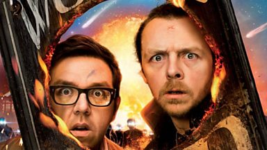 Image for Simon Pegg, Nick Frost and Edgar Wright interviewed by Kermode & Mayo