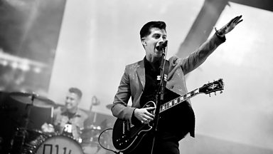 Image for Arctic Monkeys - Glastonbury highlights