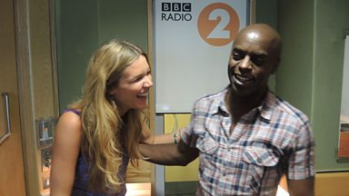 Image for Teaser clip: what's given Joss Stone the giggles with Trevor Nelson
