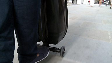 Image for Gadgets on the go: The scooter suitcase