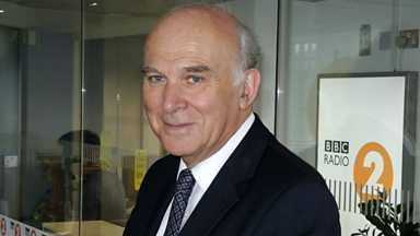 Image for Vince Cable chats to Steve Wright