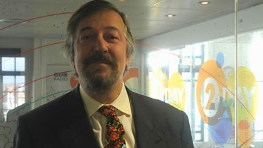 Image for Stephen Fry chats to Steve Wright